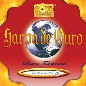CD HARPA DE OURO VOLUME 26 CÓD. 17728