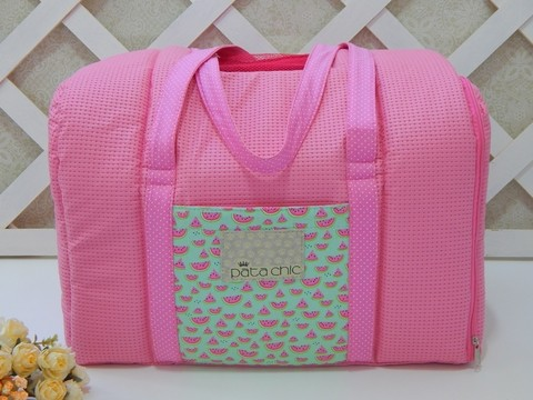 BOLSA DE TRANSPORTE MELANCIA - Pequeno Chic Boutique Pet