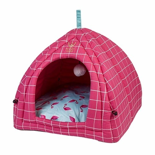 CAMA WOOF PET - CABANA SUMMER PARTY FLAMINGO - comprar online