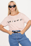 "Remera Algodon Estampa Logo ""Friends"""