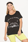 "Remera Algodón Estampada ""There is no planet B"""