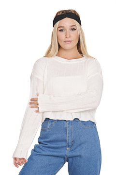 Sweater Estilo Crop Top en internet