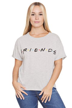 "Remera Algodon Estampa Logo ""Friends"" - tienda online"