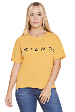 "Remera Algodon Estampa Logo ""Friends"" - comprar online"