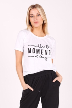 Remera Algodon Moments - comprar online