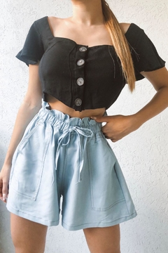 Short Jean Tencel en internet