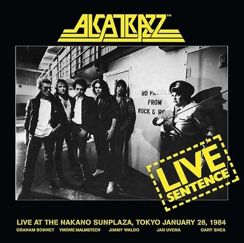 Alcatrazz - Live Sentence (CD/DVD) (Nac/Digipack)