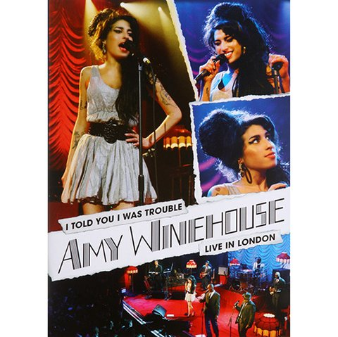 Amy Winehouse - I Told You I Was Trouble - Live In London (DVD/Nac)