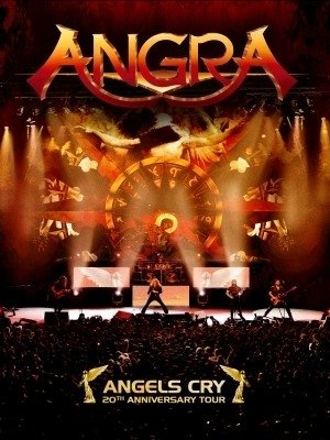 Angra - Angels Cry - 20th Anniversary Tour (DVD/CD) (Nac/Digipack)