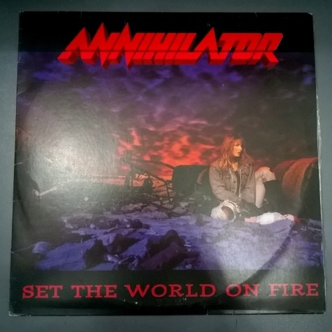 Annihilator - Set The World On Fire (Vinil / Usado / Nac)