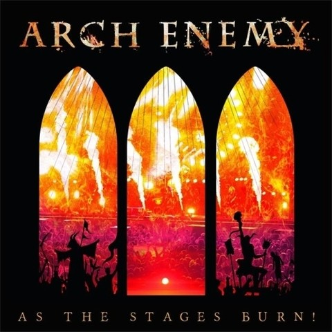 Arch Enemy - As The Stages Burn (CD/DVD) (Nac/Slipcase)