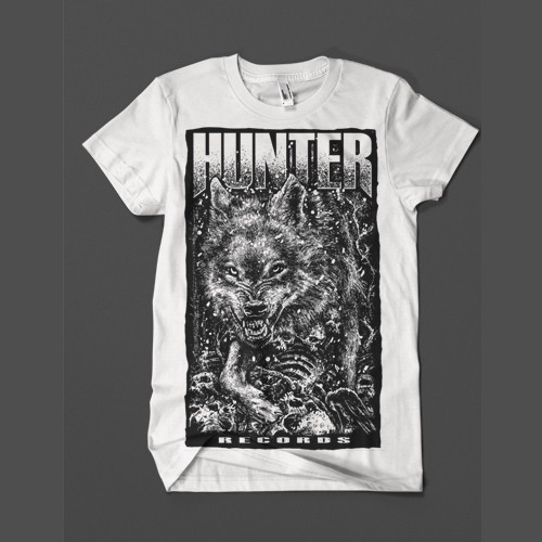 Camiseta Hunter Records - Branca