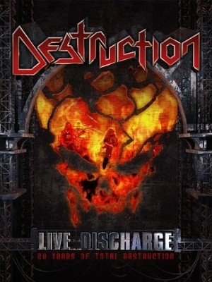 Destruction - Live Discharge - 20 Years Of Total Destruction (DVD/CD) (Nac)