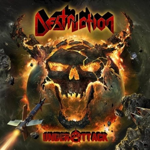 Destruction - Under Attack (Nac/Digipack/4 Bonus)