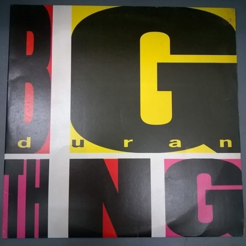 Duran Duran - Big Thing (Vinil / Usado / Nac)