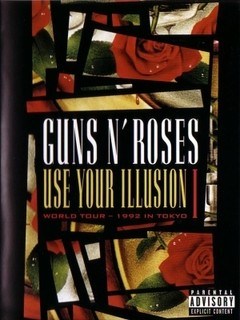 Guns N Roses - Use Your Illusion I - World Tour 1992 In Tokyo (DVD/Nac)