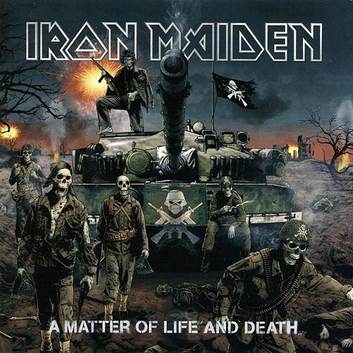 Iron Maiden - A Matter Of Life And Death (CD/DVD) (Nac)