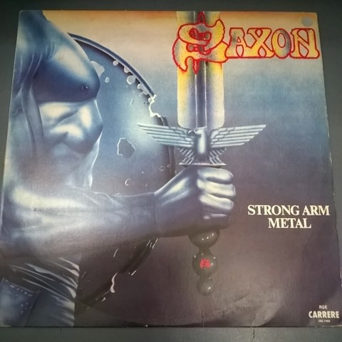 Saxon - Strong Arm Metal (Vinil / Usado / Nac)