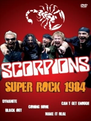 Scorpions - Super Rock 1984 (DVD/Nac)