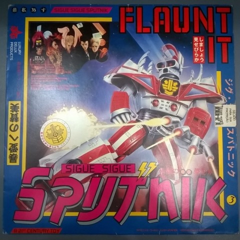 Sigue Sigue Sputnik - Flaunt It (Vinil / Usado / Nac)