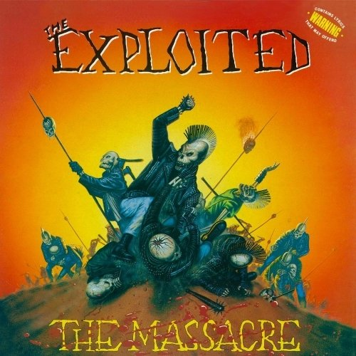 The Exploited - The Massacre (Nac/4 Bonus)