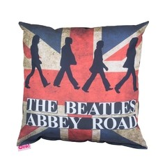 Almohadon 45x45  The Abbey Road