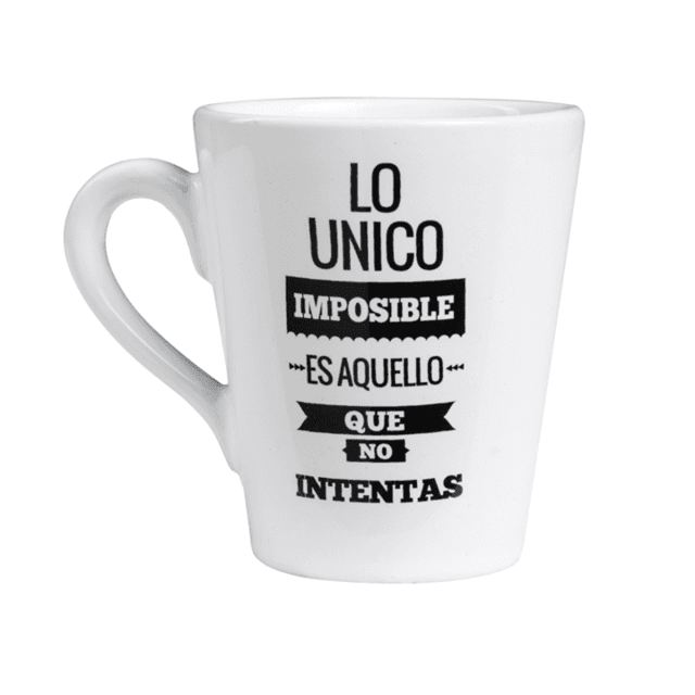 Taza Lo unico imposible