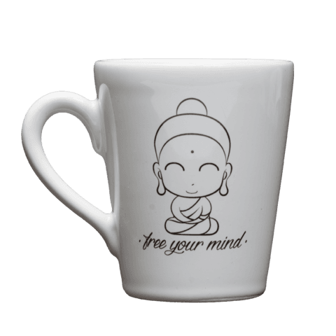 Taza Free your Mind Buda