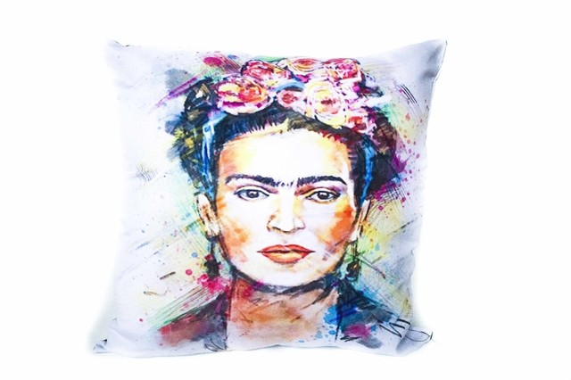 Almohadon 35x35 Frida Draw