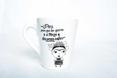 Taza Frida Love Ceramica