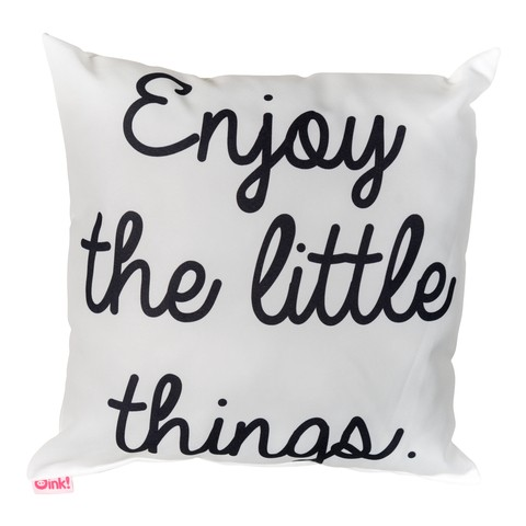 Almohadon 45x45 Enjoy the Little Things - tienda online