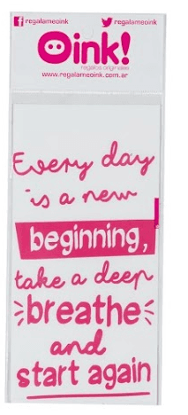 Vinilo  Every Day is a New Beginning 10x15