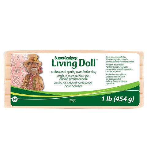 Super Sculpey Living Doll x 545g