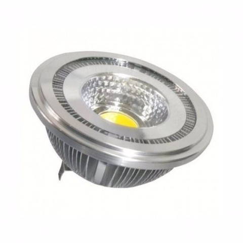 Lámpara Ar111 Led 12 Volts - 11 Watts Cob - Blanco Cálido o Frío