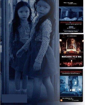 Colecao Atividade Paranormal 7 Filmes Edu Dvds