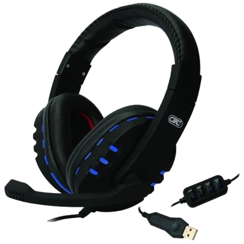Auricular Gamer Usb Led Shout Microfono Gtc Hsg-513 Head Set