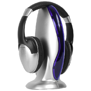 Auricular Inalambrico Profesional Moon Ma101 con Fm Ideal Tv Pc