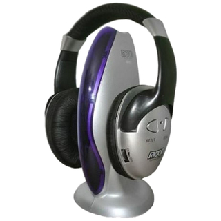 Auricular Inalambrico Profesional Moon Ma101 con Fm Ideal Tv Pc - Xion Argentina