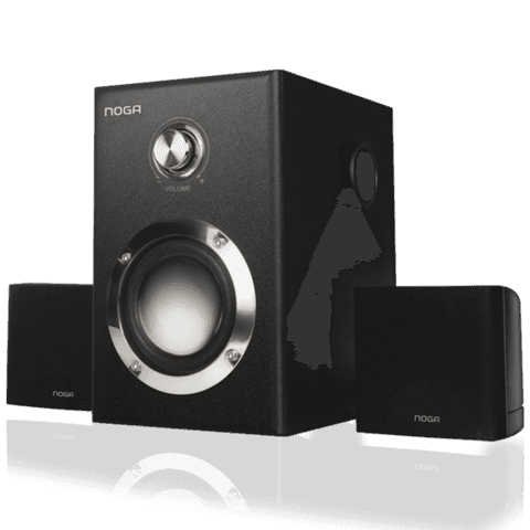 Parlantes Home Theater 2.1 Noganet E 3009 15w