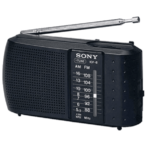 Radio Portatil Sony Icf-8 Am Fm