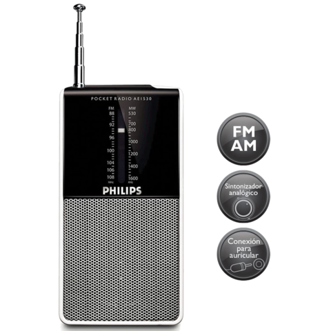 Radio Portátil Philips Ae1530 Am Fm