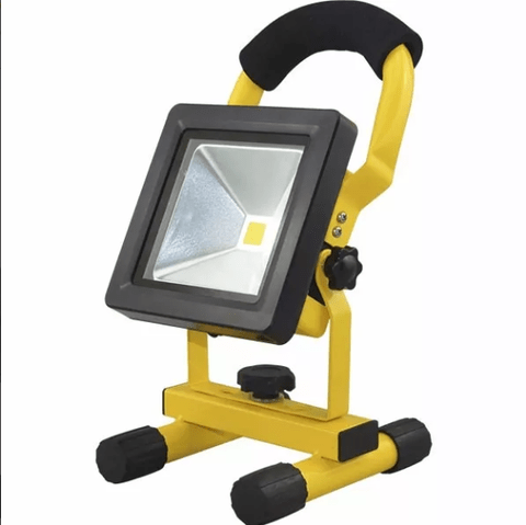 Reflector Led 10w Portable Recargable Alta Potencia Tbcin