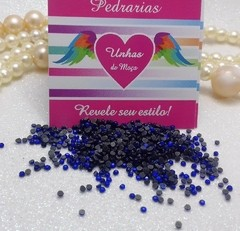 Strass Azul Bic 1,5mm com 1.000