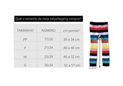 Meia Calca Legging Sugar na internet