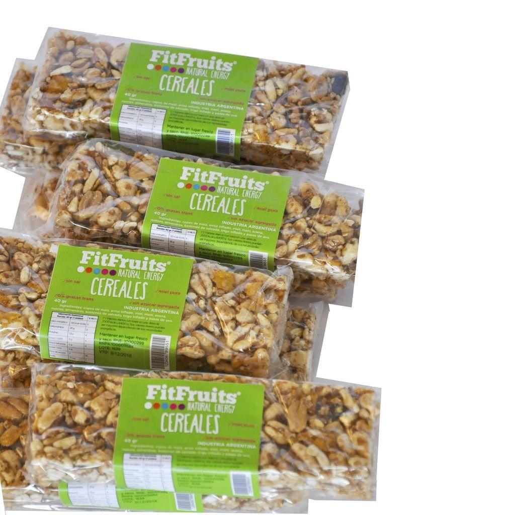 Promo Pack Barra Cereales FitFruits! (10 barras al precio de 9 barras)