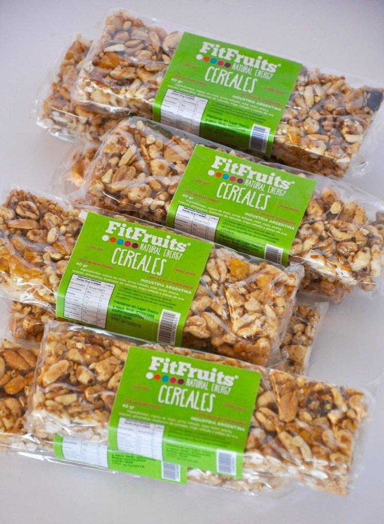 SUPER PROMO 30 Barras Cereales FitFruits