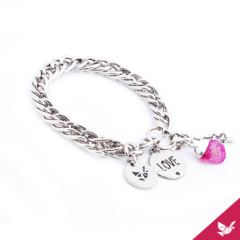 Pulsera Love en internet