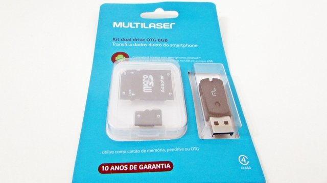 KIT DUAL DRIVE OTG 8GB na internet