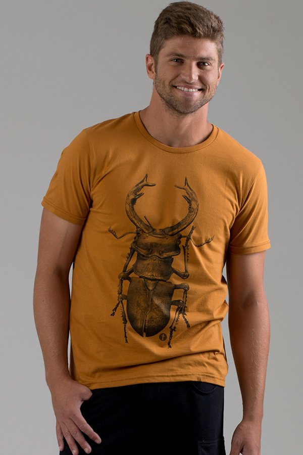 T-shirt Decote Careca Bug