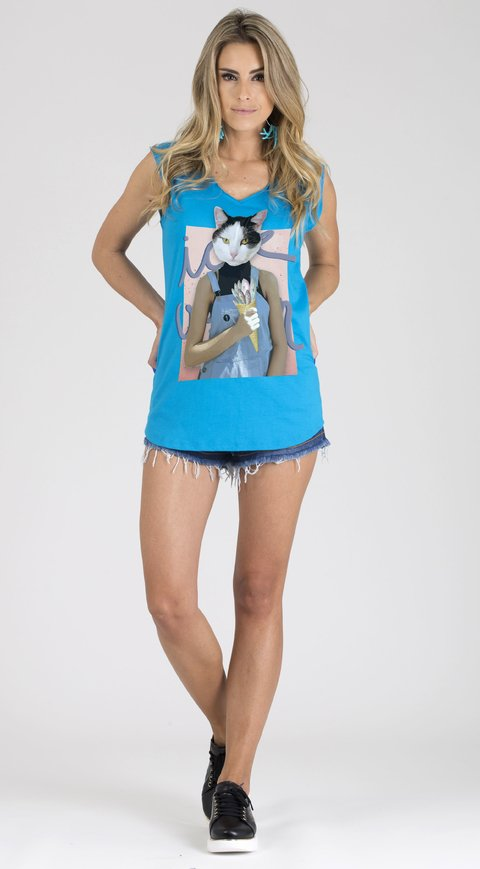 T-shirt Regata Ice Cat